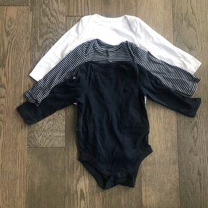 Gap long sleeve onesies